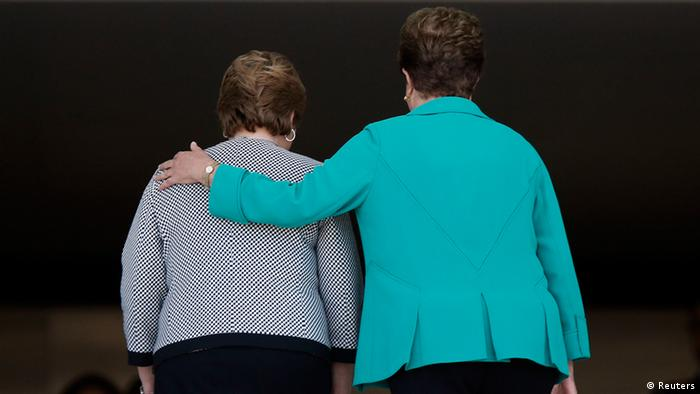 Dilma Rousseff und Michelle Bachelet (Reuters)