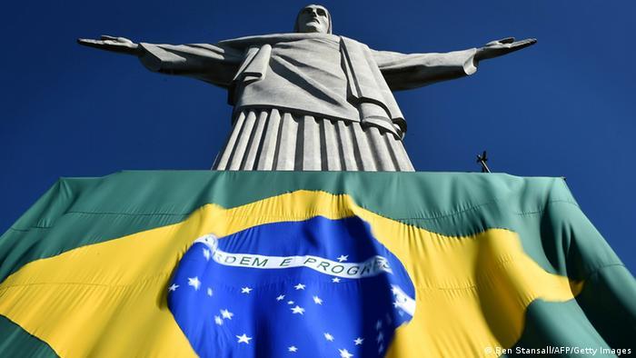 Weltmeisterschaft Fußball Brasilien 2014 Flagge (Ben Stansall/AFP/Getty Images)