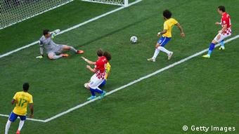 Weltmeisterschaft Fußball Brasilien 2014 Brasilien vs Kroatien Eigentor