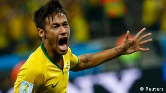 Weltmeisterschaft Fußball Brasilien 2014 Brasilien vs Kroatien 1:1