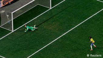 Weltmeisterschaft Fußball Brasilien 2014 Brasilien vs Kroatien Elfmeter 2:1
