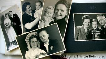 Deutschland Fotoalbum mit Hochzeitsfoto (Fotolia/Brigitte Bohnhorst)