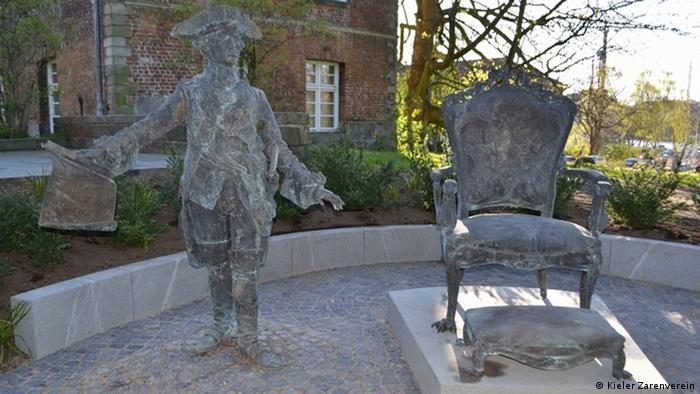 Памятник Петра III. в Киле