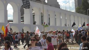 Rio Demonstrationen 12.06.2014