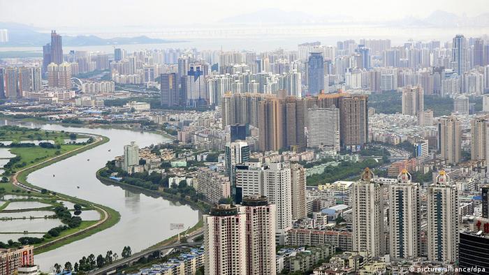 China Stadt Skyline von Shenzhen (picture-alliance/dpa)