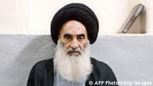 Irak Ajatollah Ali al-Sistani