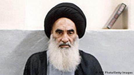 Irak Ajatollah Ali al-Sistani (AFP Photo/Getty Images)