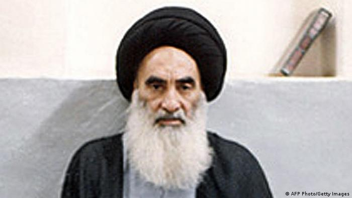 Irak Ajatollah Ali al-Sistani (AFP Photo/Getty Images)