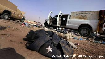 Irak Unruhen ISIL Kämpfer in Mosul 11. Juni 2014