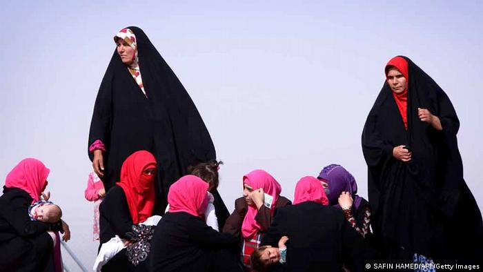 Irak Unruhen ISIL Kämpfer in Mosul Flüchtlinge 13. Juni 2014