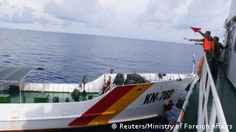 China Vietnam Schiffe Zusammenstoß vom 02.05.2014