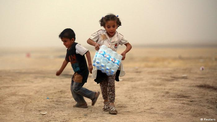 Irak Mossul Flüchtlinge 12. Juni 2014