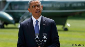 Obama giving a speech Photo: REUTERS/Kevin Lamarque