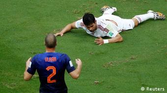 WM 2014 Gruppe B 1. Spieltag Spanien Niederlande