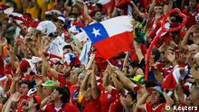 WM 2014 Gruppe B 1. Spieltag Chile Australien