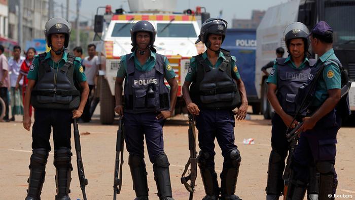 Banghladesh Zusammenstöße Mirpur 14.6.2014