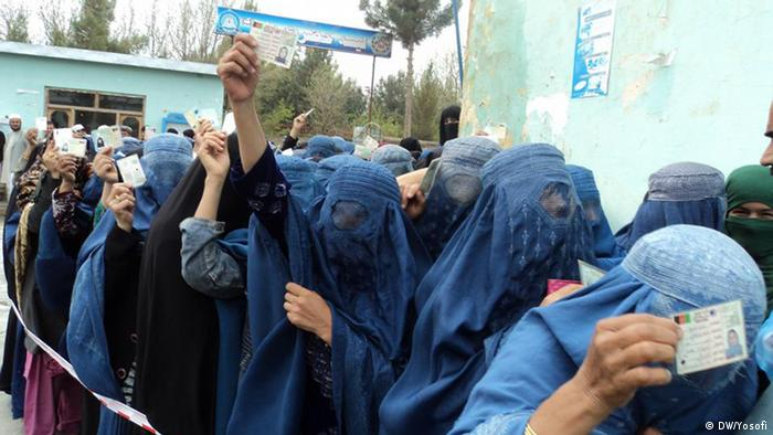 This photo shows the polling centers in Kunduz province, the second round of presidential election began in Afghanistan on 14 June 2014 (Photo: Yosofi)