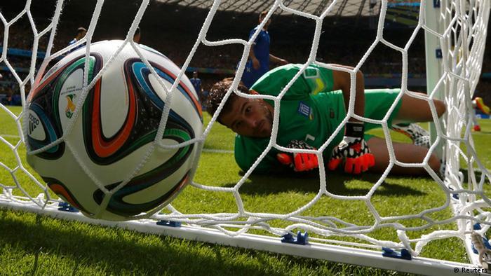 WM 2014 Gruppe C 1. Spieltag Kolumbien Griechenland
