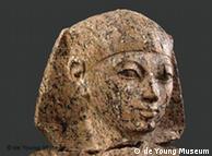 تمثال للملكة حتشبسوت ضمن القطع المعروضة في معرض سان فرانسيسكو
