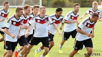 Fußball WM 2014 Nationalmannschaft Deutschland Training 14.6.2014