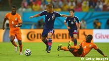 WM 2014 Gruppe D 1. Spieltag Elfenbeinküste Japan