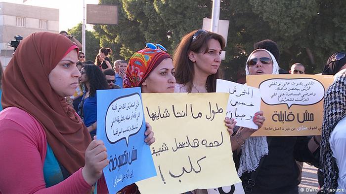 Kundgebung gegen sexuelle Belästigung in Kairo