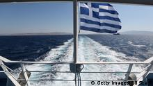 Ship under Greek flag