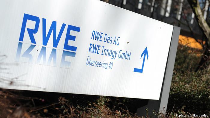Логотип RWE Dea