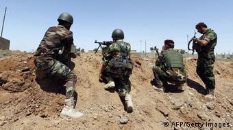 Peschmerga-Einheiten in der Region um al-Muafakiya (Foto: KARIM SAHIB/AFP/Getty Images)
