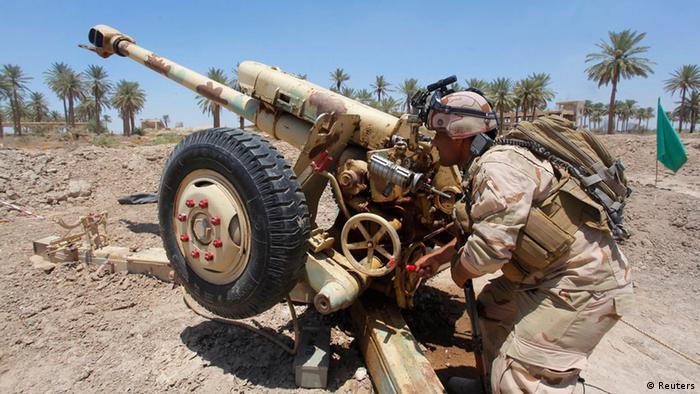 Irak Jurf al-Sakhar Armee Sicherheitskräfte ISIS Gefecht 14.6.2014
