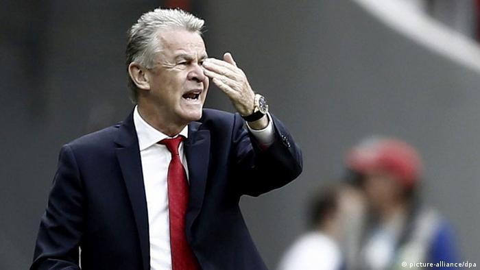 WM 2014 Gruppe E 1. Spieltag Schweiz Ecuador Hitzfeld