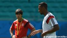 Boateng Löw DFB Fußball WM Brasilen Variante