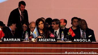 Cristina Fernández en el G77+China.