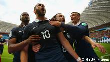 WM 2014 Gruppe E 1. Spieltag Frankreich Honduras Tor 2:0