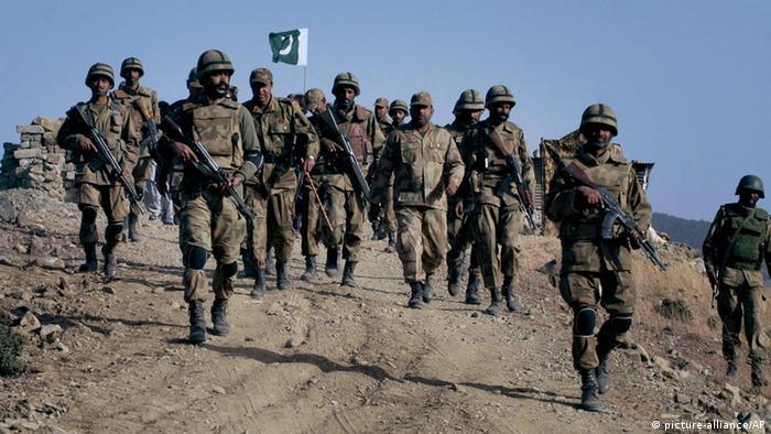 Pakistan Waziristan Armee Infanterie ARCHIV
