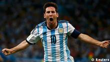WM 2014 Gruppe E 1. Spieltag Argentinien Bosnien-Hergezowina NUR FÜR BILDERGALERIE