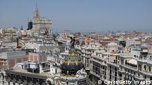 Madrid Spanien Stadtansicht Stadt Übersicht
