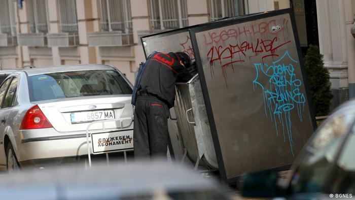 Symbolbild Armut in Bulgarien