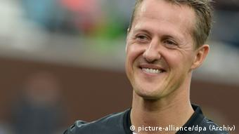 Michael Schumacher Portrait. (Photo: Marcus Brandt/dpa)