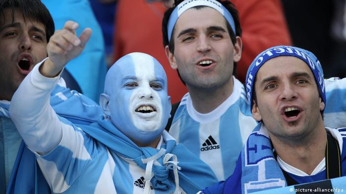 Fußball WM 2014 - Fans der Argentinier (picture-alliance/dpa)