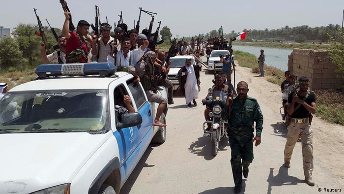 Anti-ISIS fighters in Iraq 16.06.2014