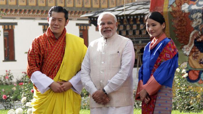 Bhutan - Indiens Premierminister Narendra Modi zu Besuch