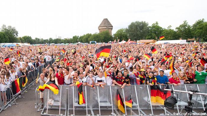 Fußball WM 2014 - Fanmeile Deutschland