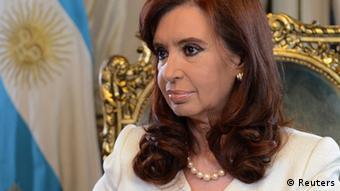 Argentiniens Präsidentin Cristina Fernandez Argentinien (Foto: REUTERS/Argentine Presidency/Handout via Reuters)