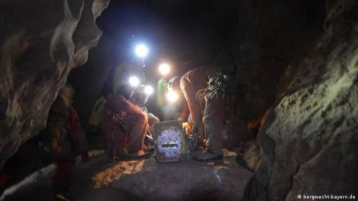 Bavaria cave rescue