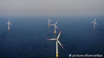Первый немецкий морской ветропарк Alpha Ventus