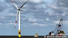 Deutschland Windenergie Offshore-Windpark Baltic 1 Ostsee