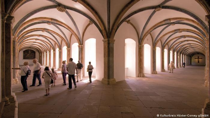 Обходная галерея монастыря Корвей