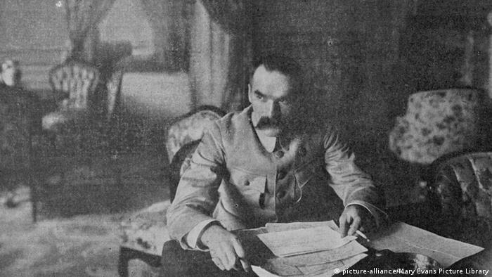 The father of modern Poland: Jozef Pilsdudski