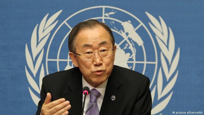 Ban Ki-Moon in Genf (Foto: dpa)